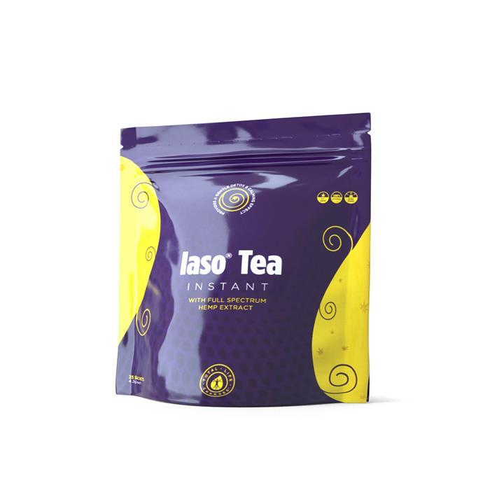 Product image for LEMON - Iaso® Tea Instant with Hemp Extract - 25 Sachets